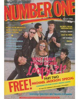1988-07-16 - Eurythmics - No. 1 from The UK ID: 2242