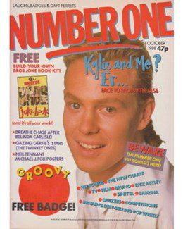 1988-10-01 - Eurythmics - No. 1 from The UK ID: 2243