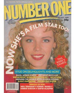 1989-07-26 - Eurythmics - No. 1 from The UK ID: 2248