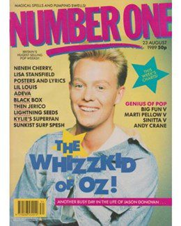 1989-08-23 - Eurythmics - No. 1 from The UK ID: 2249