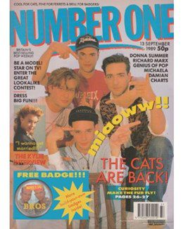1989-09-13 - Eurythmics - No. 1 from The UK ID: 2252