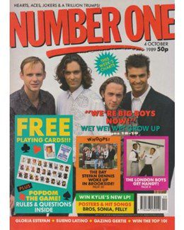 1989-10-04 - Eurythmics - No. 1 from The UK ID: 2254