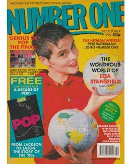1989-10-18 - Eurythmics - No. 1 from The UK ID: 2255