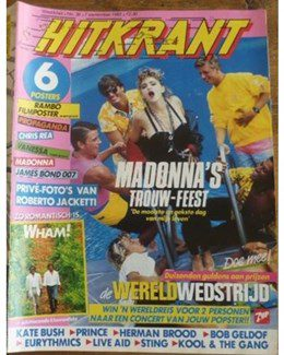 1985-09-07 - Eurythmics - Hitkrant from The Netherlands ID: 2279