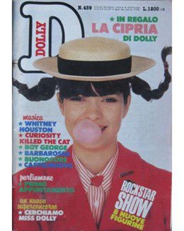 1987-03-16 - Eurythmics - Dolly from  Italy ID: 2524