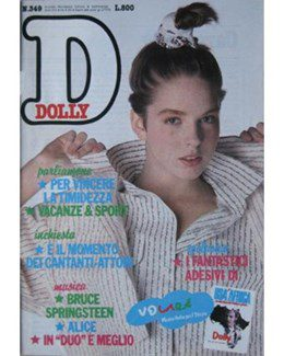 1985-06-24 - Eurythmics - Dolly from  Italy ID: 2597