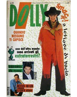 1989-11-13 - Eurythmics - Dolly from  Italy ID: 2605