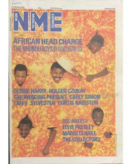 1987-02-21 - Eurythmics - NME from The UK ID: 2607