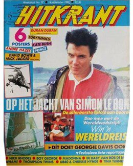 1985-09-14 - Eurythmics - Hitkrant from The Netherlands ID: 2623