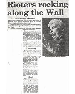 1987-06-09 - Eurythmics - Daily Express from The UK ID: 2785