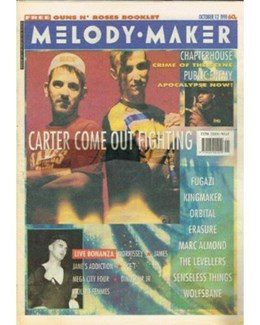 1991-10-12 - Dave Stewart - Melody Maker from The UK ID: 2789