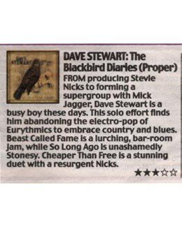 2011-06-24 - Dave Stewart - Daily Mail from The UK ID: 2794