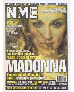 1998-03-07 - Dave Stewart - NME from The UK ID: 2795