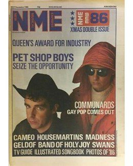 1986-12-20 - Eurythmics - NME from The UK ID: 2801