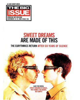 2005-11-10 - Eurythmics - The Big Issue - Scotland from The UK ID: 2824