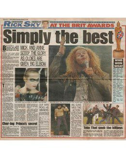1993-02-17 - Annie Lennox - Daily Mirror from The UK ID: 2896