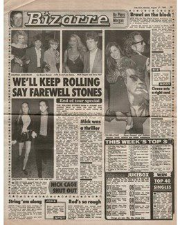 1990-08-27 - Dave Stewart - The Sun from The UK ID: 2914