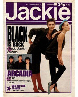 1985-11-23 - Annie Lennox - Jackie from The UK ID: 3035