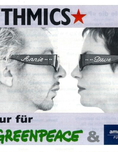 1999-10-01 – Eurythmics – Peace Tour from  Germany ID: 3251