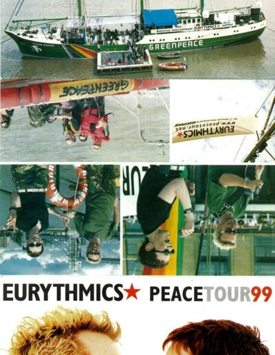 1999-10-01 – Eurythmics – Peace Tour from The UK ID: 3250