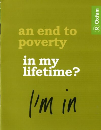 2006-03-14 – Annie Lennox – Oxfam – I'm In from The UK ID: 3257