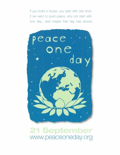 2008-09-21 – Annie Lennox – Peace One Day from The UK ID: 3273