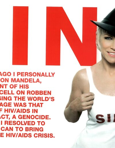 2008-03-10 – Annie Lennox – Sing from The UK ID: 3255