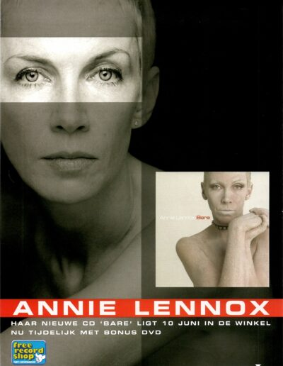 2012-05-01 – Annie Lennox – Bare from The Netherlands ID: 3264