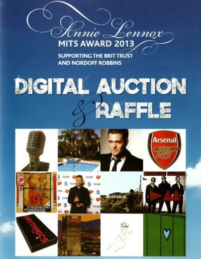 2013-11-04 – Annie Lennox – MITS Award Auction from The UK ID: 2669