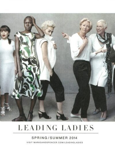 2014-05-01 – Annie Lennox – Leading Ladies – Marks and Spencers from The UK ID: 3266