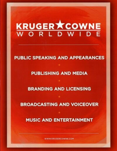 2017-01-01 – Dave Stewart – Kruger Cowne Worldwide from The UK ID: 2419