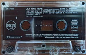 6679 – Dave Stewart – Lily Was Here – Poland – Cassette – ZK 74233