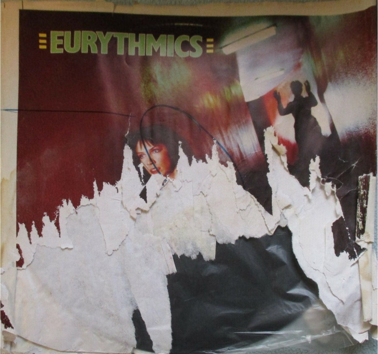 """6692 - Eurythmics - This Is The House - The UK - Promo 12"""" Single - SQUINK1"""