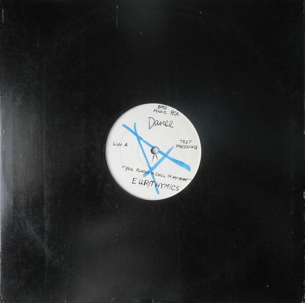 """6693 - Eurythmics - You Have Placed A Chill In My Heart - The USA - Promo 12"""" Single - 7644-1-RD"""