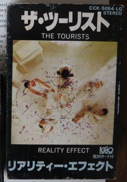 6730 - The Tourists - Reality Effect - Japan - Cassette - CCK-5054-LG