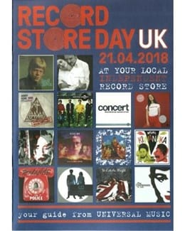 2018-04-21 - Eurythmics - Record Store Day - UMC Catalogue from The UK ID: 1789