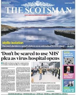 2020-04-20 – Annie Lennox – The Scotsman from The UK ID: 2821