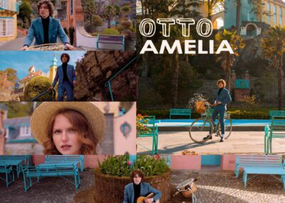 New music and a beautiful video from Otto, Amelia is a glorious Summer Song produced by Dave Stewart