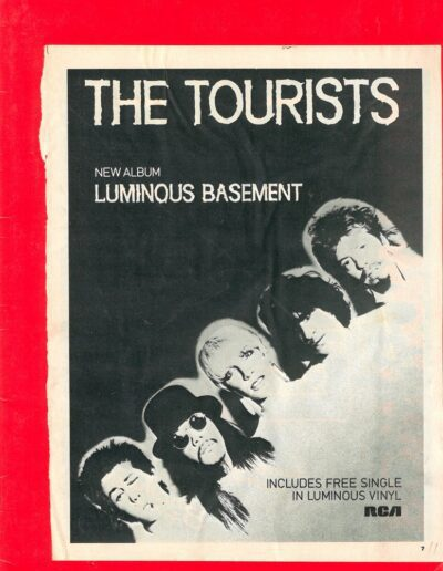 1979-12-01 – The Tourists – The Tourists Scrapbook 02 from The UK ID: 3294