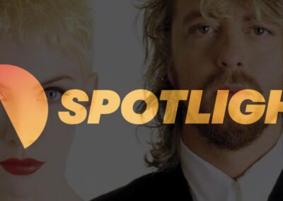 Sony Legacy, the label that most Eurythmics and Annie Lennox albums are on has rebranded as Spotlight